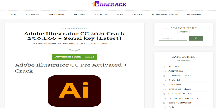 Lllustrator Crack Download